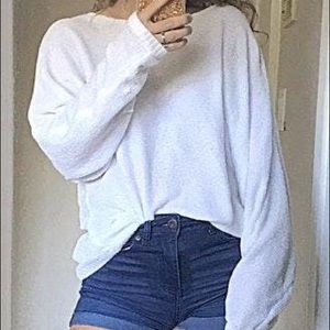 A New Day White Sweater
